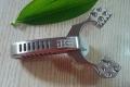 梨尘精品系列-纵横3.0精铸柄刀把反曲卡球弹弓