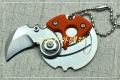 特价硬币刀EDC钥匙挂钱币精仿Serge knives小刀