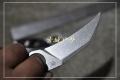 三刃木新品-旋转硬鞘G10柄S615石洗金刚小爪刀(双色)